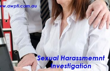 Sexual Harassment Investigation
