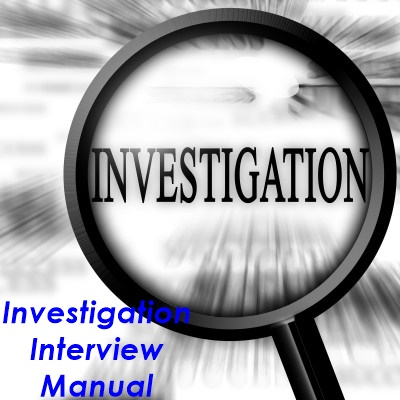 Investigation Interview Manual