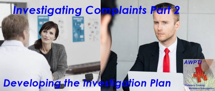Investigating Complaints Part 2